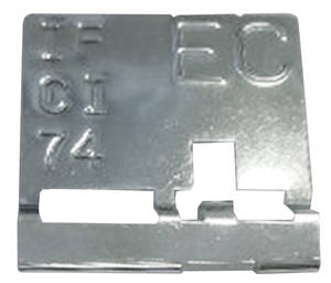 1970 Radiator Identification Tag Cutlass W-30/W-31 Manual (EC)