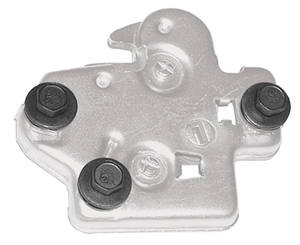 1968-72 Trunk Latch Bolts, GTO Latch - 3-Piece