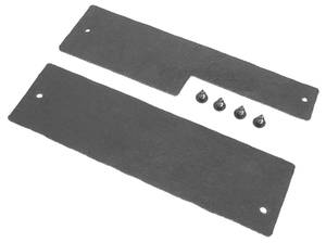1970-72 Radiator Seals, Cutlass w/AC (4-Row), 6-Pcs.