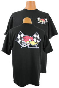1964-1974 GTO Mr. Horsepower w/Flags T-Shirt Sml.-XL, by Clay Smith