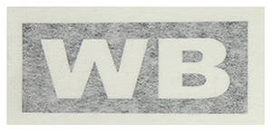 "1970-1970 Cutlass Transmission Stencil ""WB"" M-21"