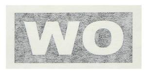 "1971-1971 Cutlass Transmission Stencil ""WO"" M-22/W-30"