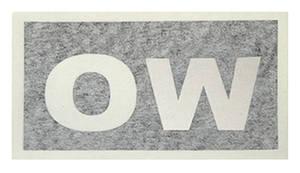 """1969-1972 Cutlass Transmission Stencil """"OW"""" TH400/W-30"""