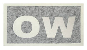 "1969-72 Cutlass Transmission Stencil ""OW"" TH400/W-30"