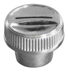 1968-72 Cutlass 8-Track Knob Outer Chrome