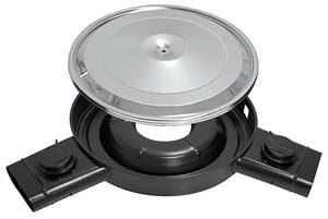Cutlass Air Cleaner Base & Lid, 1968 W-30/W-31