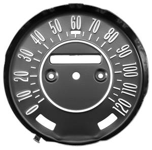 1968-69 Cutlass Speedometer Faceplate