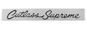 """Cutlass/442 Glove Box Emblem, 1968-69 """"Cutlass Supreme"""""""