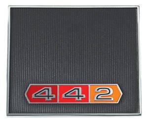 """1966 Cutlass/442 Dash Emblem, """"4-4-2"""""""