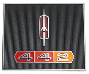 """1967 Cutlass Dash Emblem, """"4-4-2"""""""
