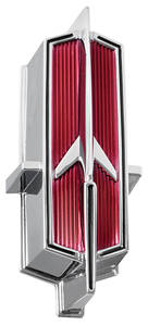 1966-1966 Cutlass Grille Emblem, 1966 4-4-2 Center