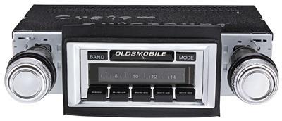 1966-67 Cutlass Stereo, Custom Autosound USA-630