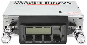 1964-65 Cutlass Stereo, Vintage Car Audio 100 Series Black