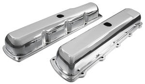 1967-72 Cutlass Valve Covers, Oldsmobile Big-Block Chrome