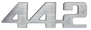 """Cutlass/442 Grille Emblem, 1974 """"4-4-2"""" (Center)"""