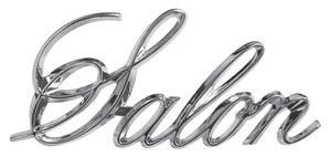 """1973-1977 Cutlass Fender Emblem, 1973-77 """"Salon"""" (Script)"""