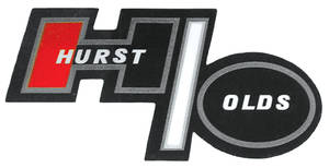"1973 Cutlass Opera Window Decals, ""Hurst/Olds"""