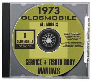 1973-1973 Cutlass CD-ROM Factory Shop Manuals