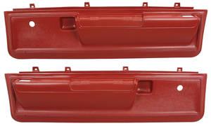 Door Panels, 1973-77 Reproduction Molded Lower Malibu Manual Locks/Manual Windows