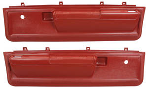 Cutlass/442 Door Panels, 1973-77 Reproduction Molded Lower Manual Door Locks & Windows