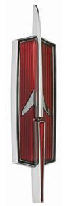 1973-1974 Cutlass Header Panel Emblem, 1973-74 Cutlass/H.O./4-4-2