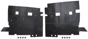 1973-77 Cutlass/442 Splash Shield, Front End Radiator Shield (2-Piece)
