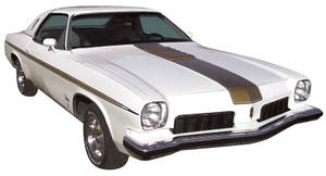 Cutlass/442 Body Stripe Kit, 1973 Hurst/Olds