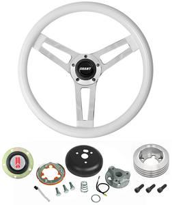 1969-1977 Cutlass Steering Wheels, Classic Series White Wheel Standard Column, by Grant