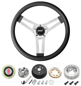 1964-66 Cutlass/442 Steering Wheels, Classic Series Black Wheel w/o Tilt