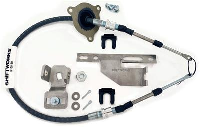 1970-1972 Cutlass Shifter Conversion Kit 700-R4, 200-4R, 4L60 (Dual Gate)