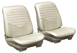 """1970-1970 Cutlass Bucket Seats, Pre-Assembled Cutlass """"S"""", by PUI"""