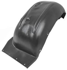 1968-1969 Cutlass Fenderwells, Front Inner Black