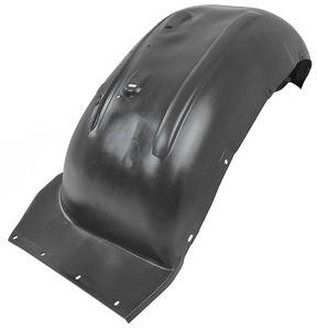 1968-69 Cutlass Fenderwells, Front Inner Black