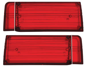 1965-1965 Cutlass Tail Light Lens, 1965 Cutlass/4-4-2