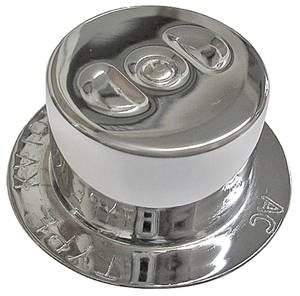 1967 Cutlass Oil Filler Cap, Oldsmobile Chrome (W-30)