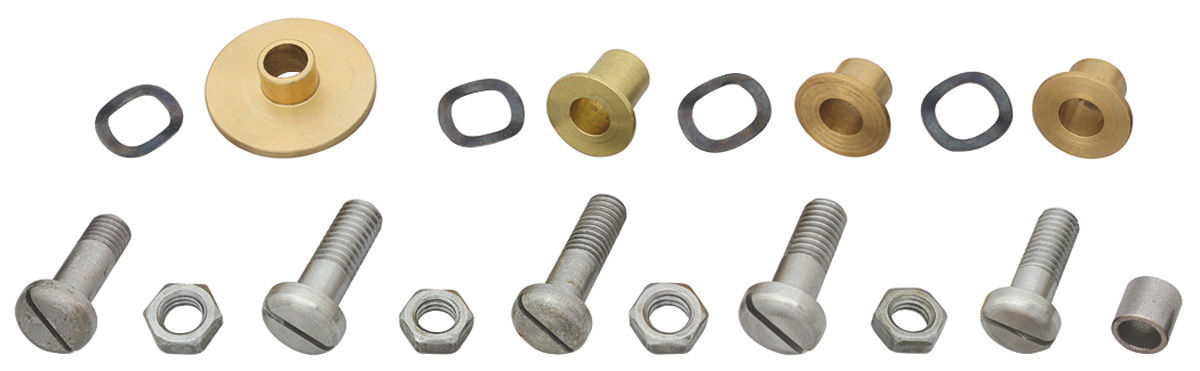 Photo of Convertible Top Frame Slide Rail Rebuild Kit 18-piece (one side)