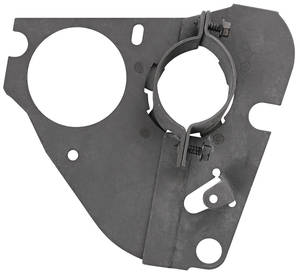 1968-72 LeMans Steering Column Clamp Plates, Lower Manual