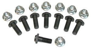 1964-72 Cutlass Axle Flange Bolt Set, Rear