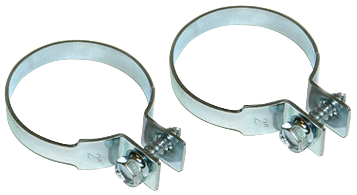 """Photo of Exhaust Tailpipe Clamp Zinc Coated 2"""""""
