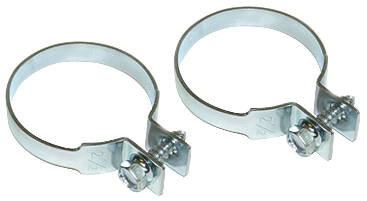"Photo of Tailpipe Clamp Zinc Coated 2-1/2"" Diameter"