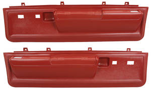 Door Panels, 1973-77 Reproduction Molded Lower Malibu Power Locks/Power Windows