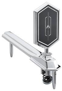Cutlass/442 Hood Emblem, 1976-77 Cutlass (Rocket)