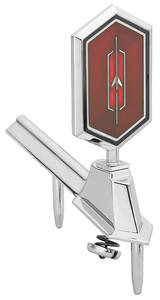 1975-1975 Cutlass Header Panel Emblem, 1975 Cutlass Supreme
