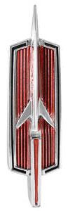 1968-1972 Cutlass Tailgate Emblem, 1968-72 Vista Cruiser (Rocket)