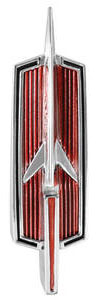 Cutlass/442 Tailgate Emblem, 1968-72 Vista Cruiser (Rocket)