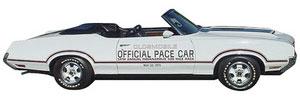 1970 Cutlass/442 Oldsmobile 4-4-2 Pace Car Decals Door Decals