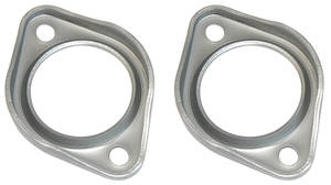 1968-72 Exhaust Flanges, Cutlass Raw