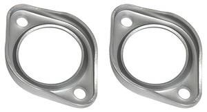 1968-72 Exhaust Flanges, Cutlass Ceramic Coated