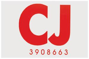 "1968-1968 Cutlass Frame Code Decal Hardtop ""CJ"""