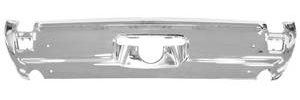 1969-1969 Cutlass Bumper, Chrome Rear 4-4-2, w/Exhaust Cutouts